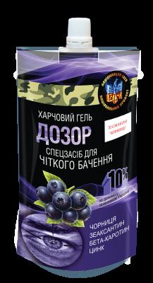 Гель пищевой ДОЗОР 120 мл. для зрения