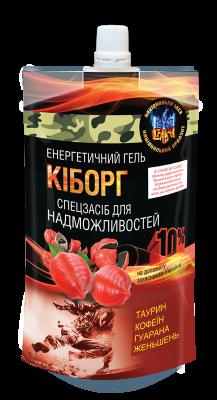 Гель пищевой КИБОРГ 120 мл. тонизирующий энергетик